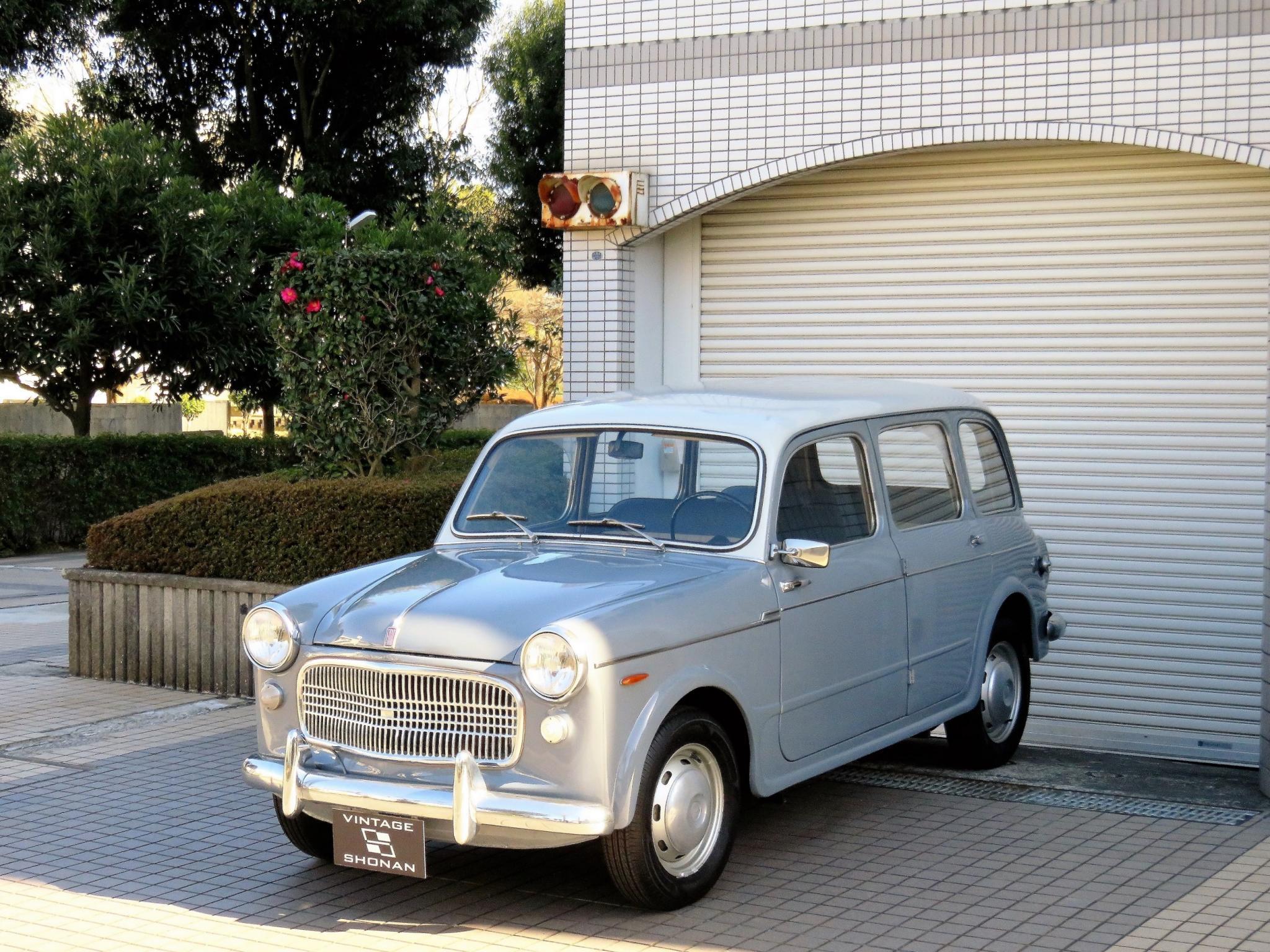 ヴィンテージカー販売 フィアット1100ファミリアーレ