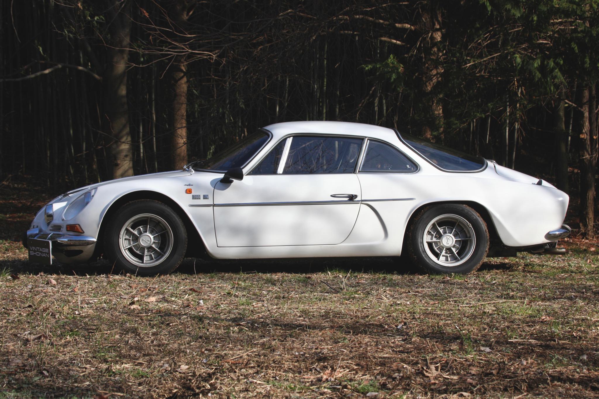 ヴィンテージカー販売 ルノーアルピーヌA110