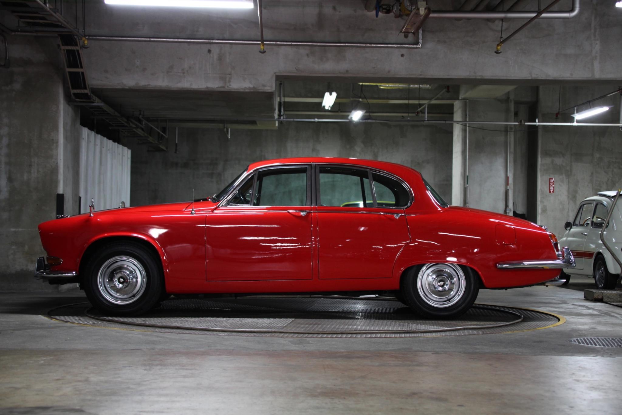 ヴィンテージカー販売 ジャガー420